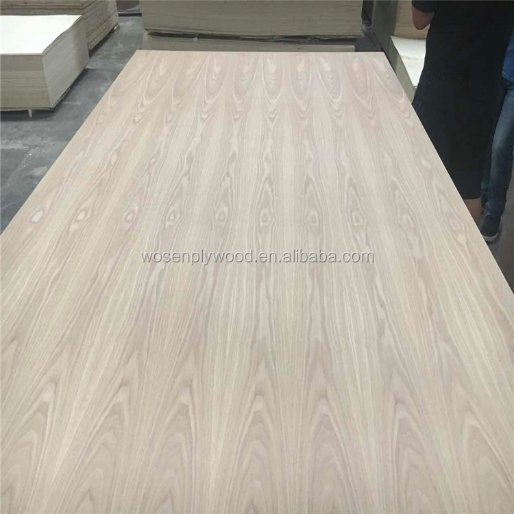 Nice oak face veneer plywood facncy plywood with low formaldehyde emission