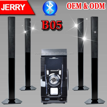Jerry Power 5.1 Home Theater Speaker System With Big Power