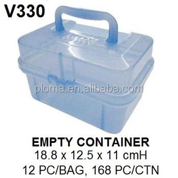 Transparent Plastic Storage Box With Lid,Kids Toy Storage Box