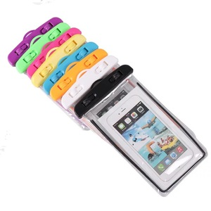 Luminous Designcell Phone Water Resistant Bag and Waterproof Case with Lanyard and Clear Waterproof Bag for mobile phone