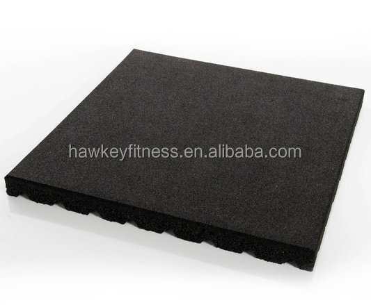 Gym Rubber Flooring SBR Rubber Tile High Quality