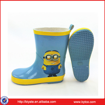 cartoon kid s fashion rubber rain boots for toddler buy rubber
