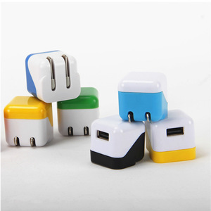 Wholesale cell phone charger single port charger to USB wall foldable usb charger adapter