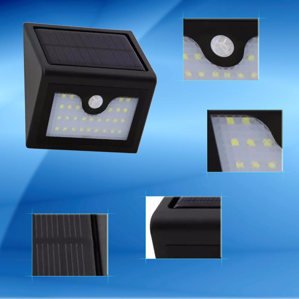 14 Led Solar Sensor Light Sdx-sl20 Solar Garden Lights Wall Supper ...