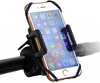 2016 Best Universal Handlebar Bike Phone Mount Smartphone Cell Phone Mobile GPS Holder for Bicycle Logo