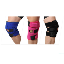Adjustable Sports Protection Knee Support Knee Pads Wrestling , Massage Leg Brace Wrap Protector Pads