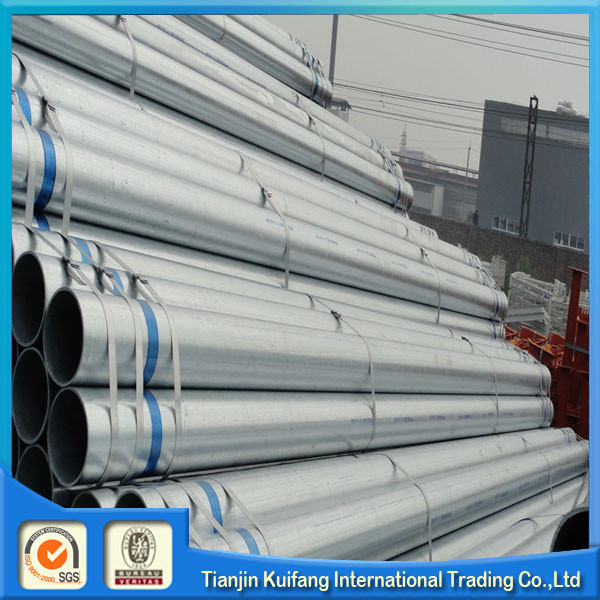 ASTM A53 Q195 235 345 Electro galvanized steel tube