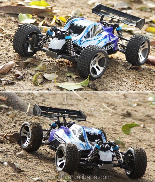 Toys and Hobbies WLtoys A959 1/18 2.4G RC Car with Anti-vibration System Electric cars Kids toys