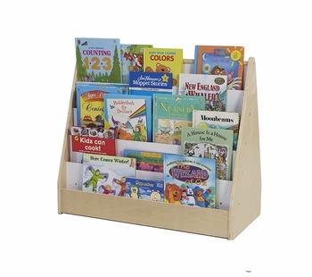 Superior Montessori Used Daycare Furniture Kids Bookshelf For Custom