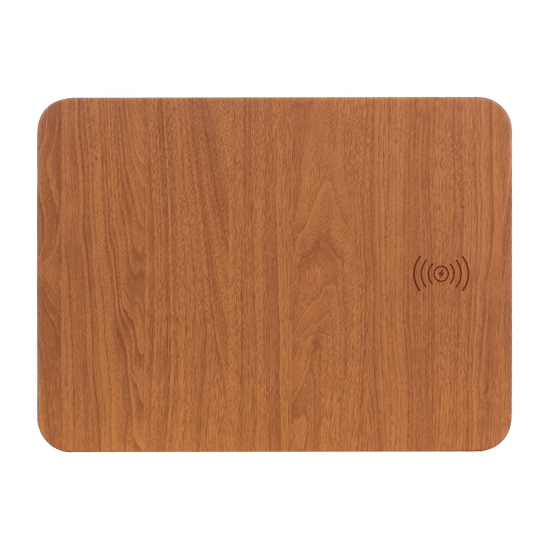 Shenzhen Cheapest Price 2 in 1 Fast Wireless Charging Mouse Pad for iPhone XR and Samsung Note 9 and All Qi-Enabled Devices