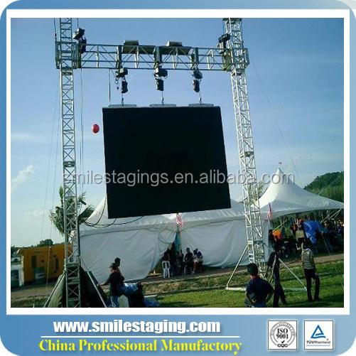 Dj Lighting Goal Post Truss System Hanging Led Screen