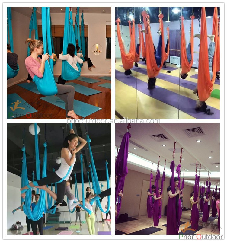 Fabric ONLY Professional antigravity Aerial Yoga hammock Yoga Swing Factory wholesale & Retail