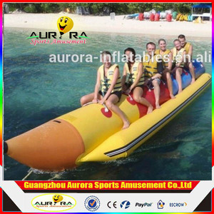 Hot Sale Water Toys Inflatable Banana Boat For Sale