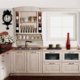 modern island designs cheap solid wood white color kitchen cabinets