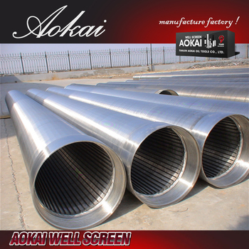 Sand control johnson filter water well screen tube AK for wholesales