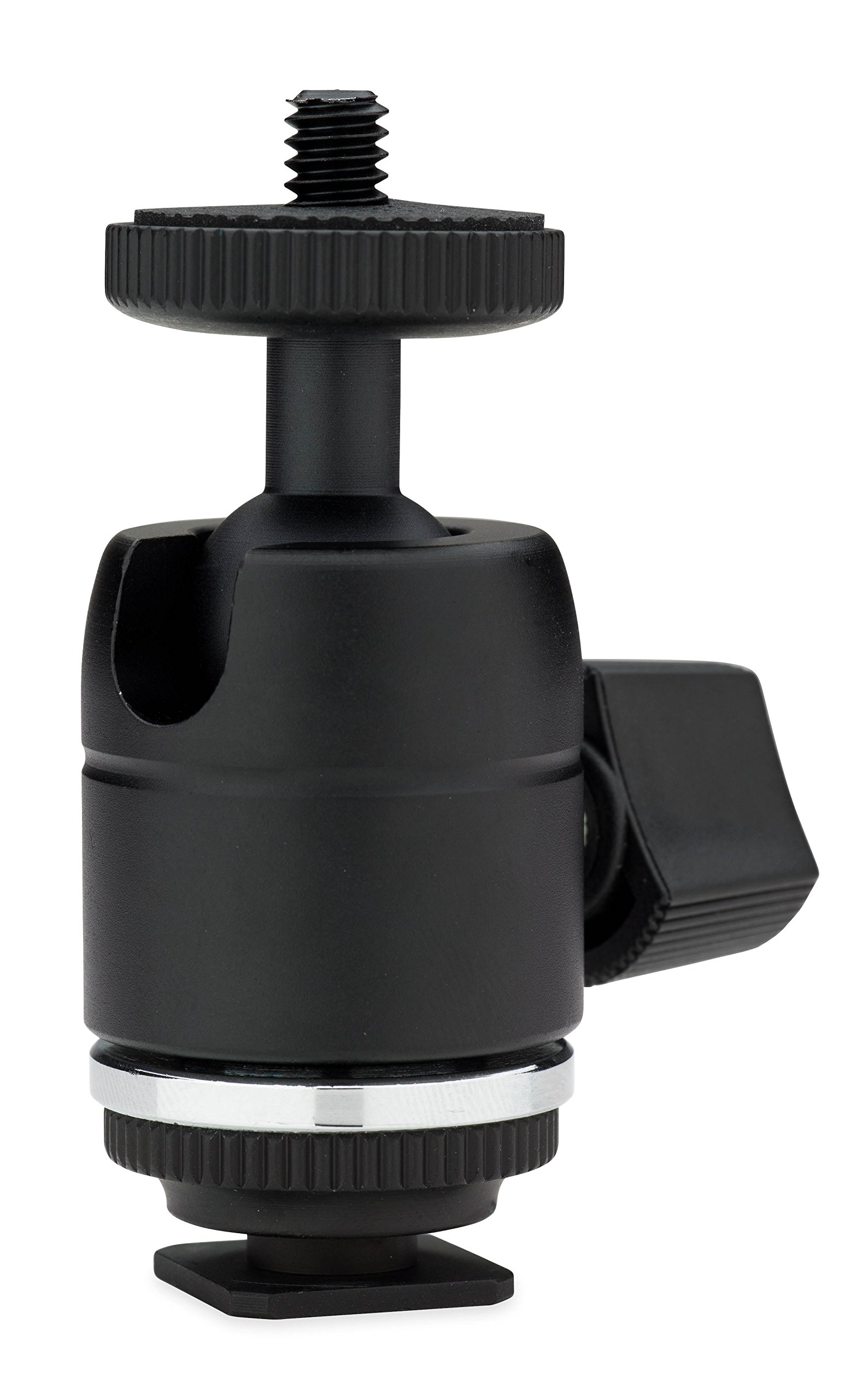 Kupo KG010011 Mini Ball Head with Hot Shoe Adapter (Black)