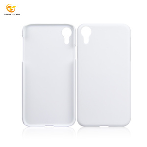 For iPhone XR PC Blank Sublimation Mobile Cover 3D Phone Case