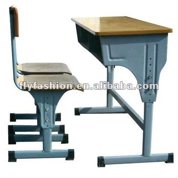 School Desk And Chair In Classroom
