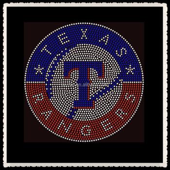 Aprise - Texas Rangers Baseball Sports Team Rhinestone Hot Fix Iron On  Transfer - Buy Texas Rangers Rhinestone Transfer,Texas Rangers Iron On