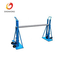 10 Ton Hydraulic Cable Drum Lifting Jack Stand with Spindle