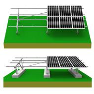 OEM Pv Yapısı eğimli çatı güneş enerjisi destek