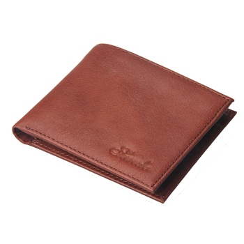 Vegetable-tanned Leather Wallet Bifold Wallet with Card Holder