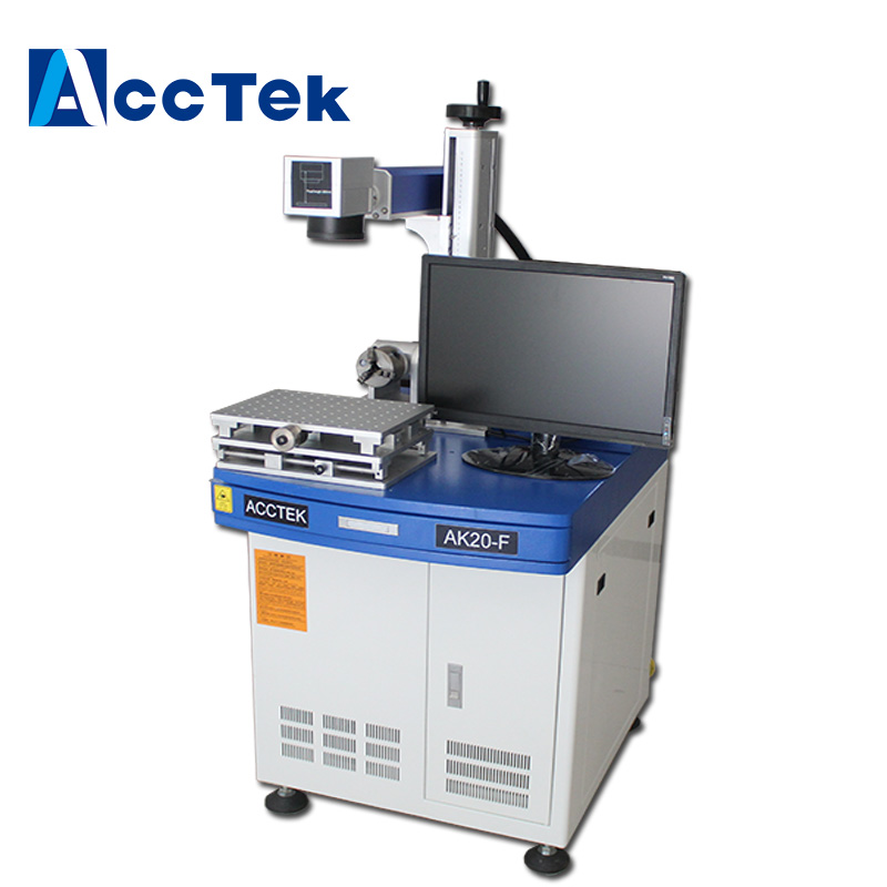 AccTek high precision laser marking and engraving machine for metal