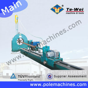 Chinese First Manufacturer On Street Light Pole Machine