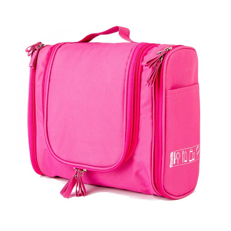 826f90a911c8 Multifunctional travel kit make up bag cosmetic organizer wash essentials  elastic loops hanging waterproof travel toiletry bag
