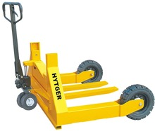 1.5T Hydraulic Brake Hand Rough Terrain Pallet Truck with PU Wheels