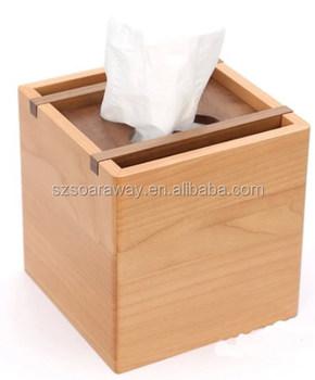 Eco-friendly Natural Tissue Paper Box Design Wooden Tissue Box ...
