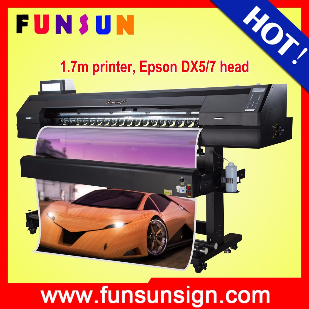 2016 Newly FS-1700K inkjet label printer roll to roll with fast speed