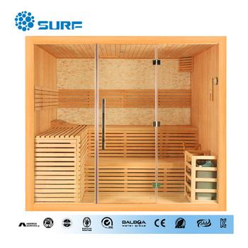 Freistehende Holz Über 4 Person Indoor Hause Dampfsauna - Buy Product on  Alibaba.com