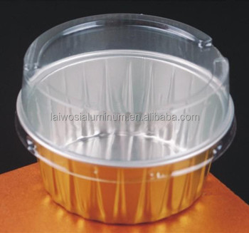 Disposable Aluminium Foil Cake Baking Cup /pudding Cup/dessert Cup ...