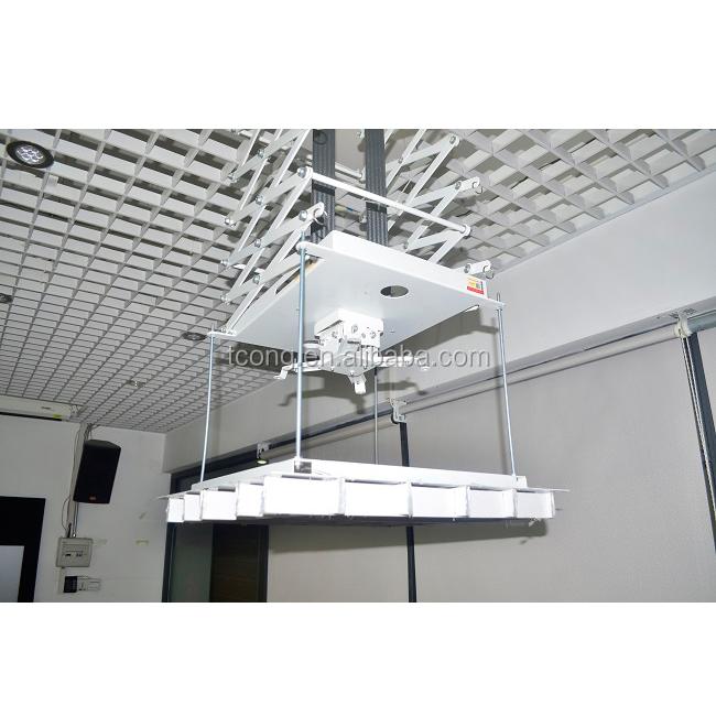 Motorized Scissor Projector Lift Remote Control Electric