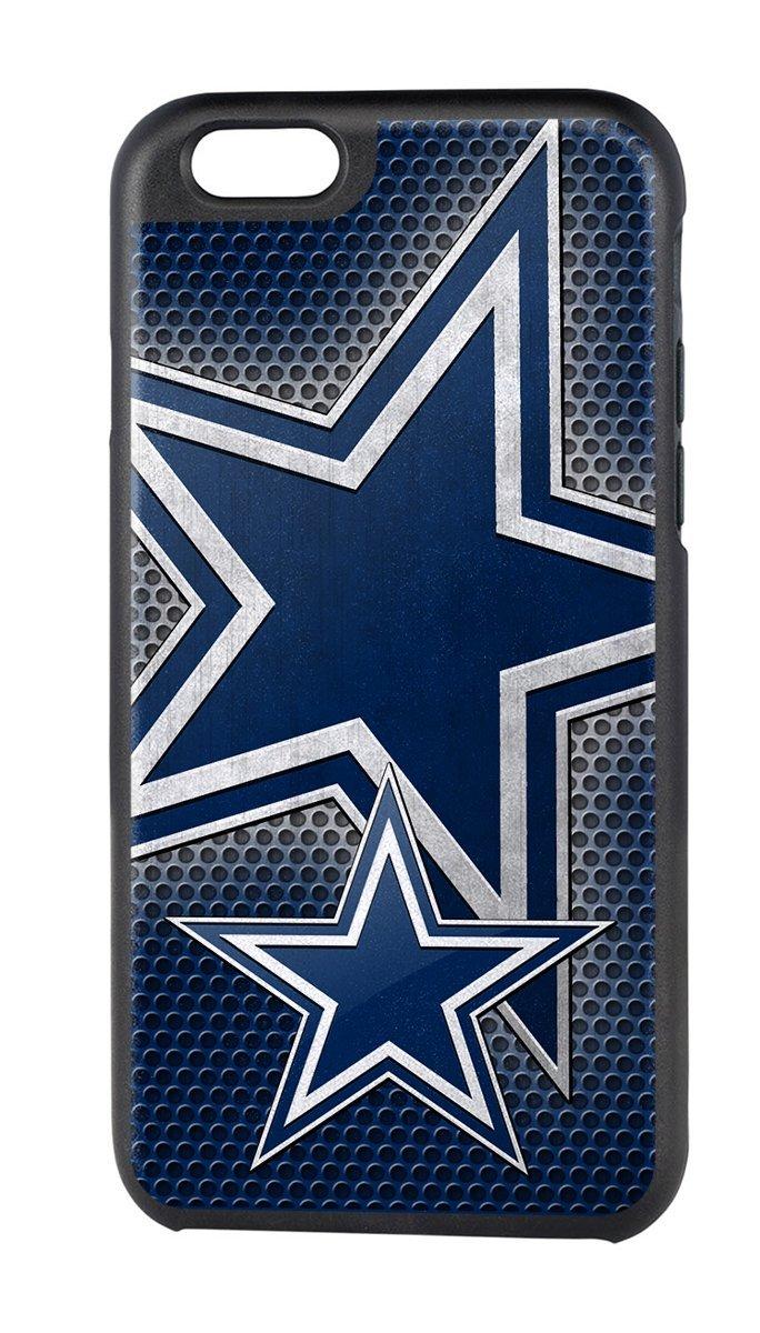 28fbd3af9074f6 Get Quotations · NFL Dallas Cowboys Rugged Case for Apple iPhone 6 - Black /Blue/White