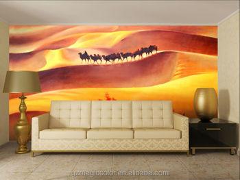 Camel In The Desert Design Wallpaperwall Mural Buy Camel