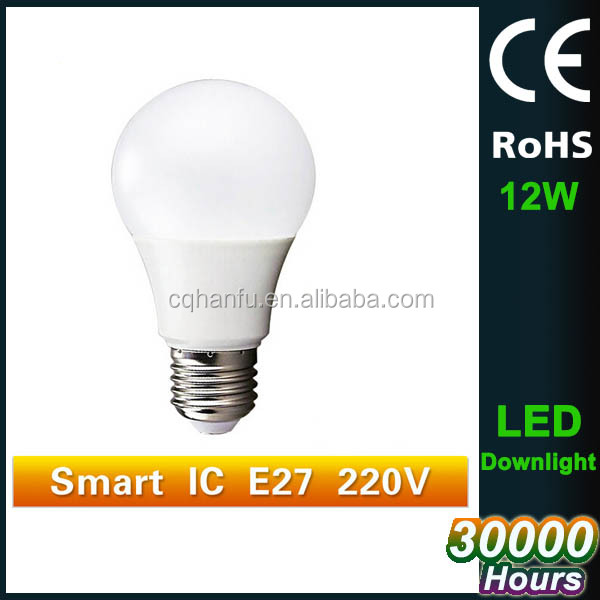 Supplier E27 Led Bulb 12w 100 240v Cool White 6500k E27 Led Bulb 12w 100 240v Cool White 6500k