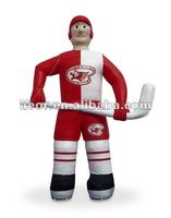 2012 Funny Inflatable Curveball stick cartoon model for sale