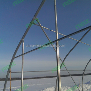 Long life use factory direct sale greenhouse for mushroom for tender