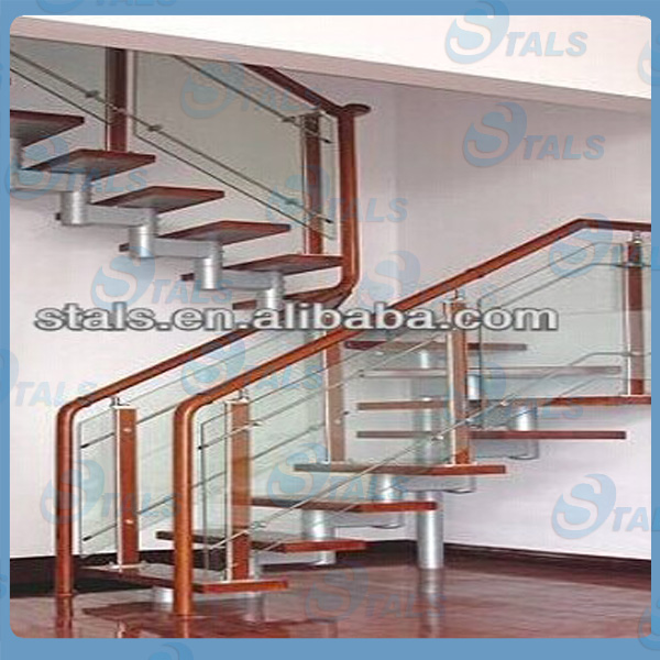 2014 Modern Aluminum Balcony Railing Fashion Design Balcony Glass ...