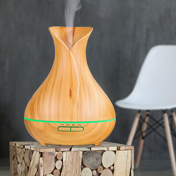 400ml Aromatherapy Essential Oil Diffuser - Portable Ultrasonic Diffuser Cool Mist Air Humidifier