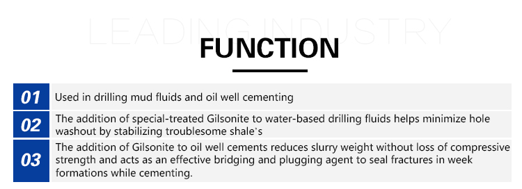 High Quality Natural Bitumen (gilsonite) Cheaper And Better Than Oil Bitumen