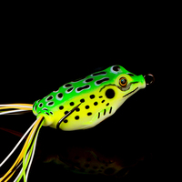 Peche Plastic Fishing Lures Pesca Jumping Soft Frog Lures for Carpfishing Wobbler Crankbaits