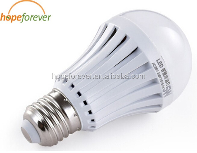 Emergency Led Light Bulb E27 7w Energy Saving Rechargeable Battery ...