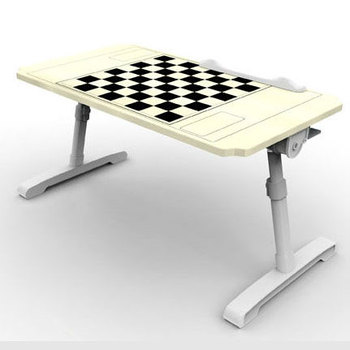 small portable laptop table wooden chess table