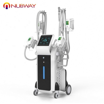 Beauty salon use 4 cryo handles fat removal cryotherapy equipment vacuum cryolipolysis fat freeze slimming machine for sale