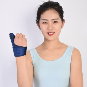 Compression Support One Size Adjustable Thumb Wrist Protector