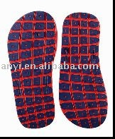Bicolor Sandal Soles with pattern designs