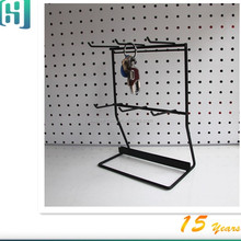 metal wire countertop hanging items jewelry display rack stand HSX-S0336
